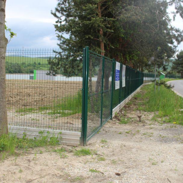 Oddychovo-rekreačná zóna na brehu vodnej nádrže Malá Domaša