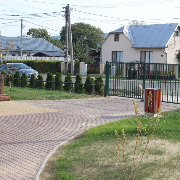 Úprava verejného priestranstva v obci Malá Domaša