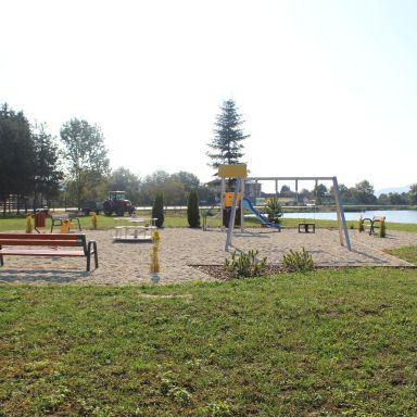 Oddychovo-rekreačná zóna na brehu vodnej nádrže Malá Domaša - 2. etapa