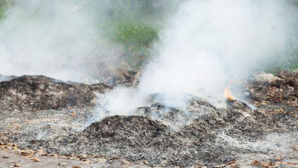 Upozornenie o zákaze spaľovania