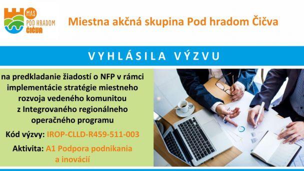 Výzva na predkladanie žiadostí o NFP